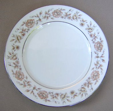 Make sure your browser can show photos and reload this page to see Oxford (Div Of Lenox) China Wakefield Salad plate 8 1/8