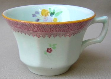 Make sure your browser can show photos and reload this page to see Adams China Lowestoft 2087  Cup only (no saucer) 2 5/8Ó t x 3 7/8