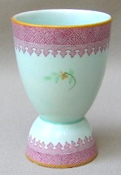 Make sure your browser can show photos and reload this page to see Adams China Lowestoft 2087  Egg cup 3 3/4