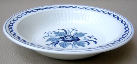 Make sure your browser can show photos and reload this page to see Adams China Baltic Soup bowl, rim shape