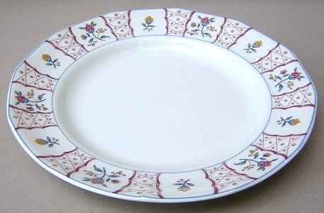 Make sure your browser can show photos and reload this page to see Adams China Anita Dinner plate 10 1/4