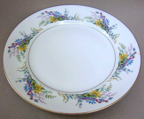 Make sure your browser can show photos and reload this page to see Arcadian - Prestige China Spring Glory  Salad plate  8 1/8