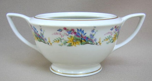 Make sure your browser can show photos and reload this page to see Arcadian - Prestige China Spring Glory  Sugar bowl (no lid)
