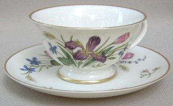 Make sure your browser can show photos and reload this page to see Franciscan China Mariposa  Cup and saucer set 4