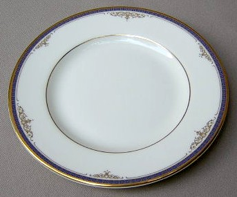 Make sure your browser can show photos and reload this page to see Minton China Marlborough Bread and butter plate 6 1/2