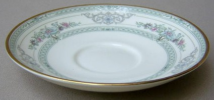 Make sure your browser can show photos and reload this page to see Minton China Beaumont Saucer only 5 3/4