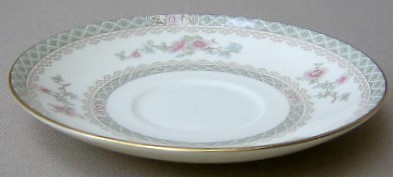 Make sure your browser can show photos and reload this page to see Minton China Legacy Saucer only 5 3/4
