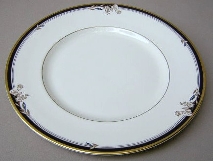 Make sure your browser can show photos and reload this page to see Minton China Newbury Dinner plate 10 5/8