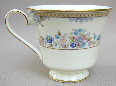 Make sure your browser can show photos and reload this page to see Minton China Avonlea Cup only (no saucer) 3 1/2