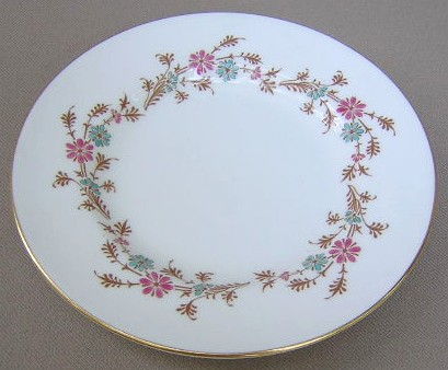 Make sure your browser can show photos and reload this page to see Minton China Durham S651 Bread and butter plate 6 1/4
