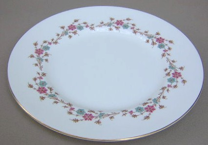 Make sure your browser can show photos and reload this page to see Minton China Durham S651 Dinner plate 10 1/2