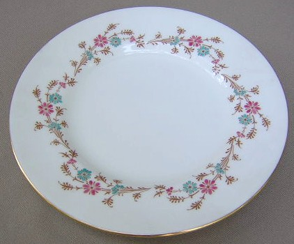 Make sure your browser can show photos and reload this page to see Minton China Durham S651 Salad plate 7 1/2