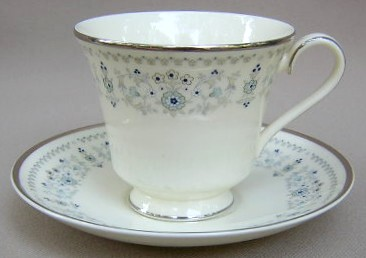 Make sure your browser can show photos and reload this page to see Minton China Beaumaris Cup and saucer set 3 1/2