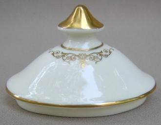Make sure your browser can show photos and reload this page to see Minton China Gloucester Sugar (lid only) no bowl