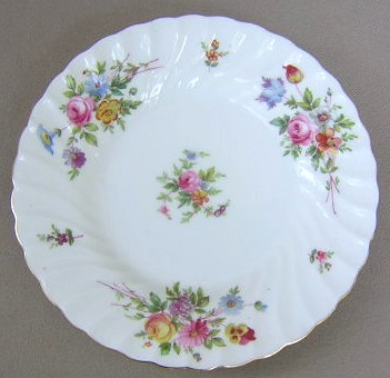 Make sure your browser can show photos and reload this page to see Minton China Marlow S309 Bread and butter plate 6 1/4