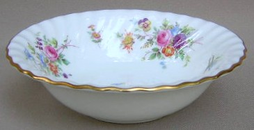 Make sure your browser can show photos and reload this page to see Minton China Marlow S309 Cereal bowl 6 1/4