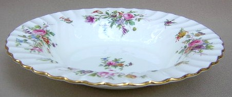Make sure your browser can show photos and reload this page to see Minton China Marlow S309 Soup bowl, rim shape 7 7/8
