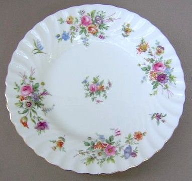 Make sure your browser can show photos and reload this page to see Minton China Marlow S309 Salad plate 7 7/8
