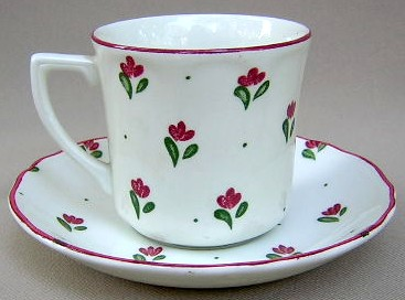 Make sure your browser can show photos and reload this page to see Johnson Brothers Dinnerware  Bonjour Cup and saucer set 3