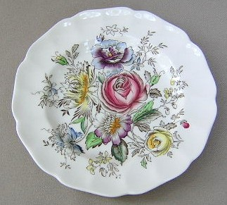 Make sure your browser can show photos and reload this page to see Johnson Brothers Dinnerware  Sheraton Bread and butter plate 6 1/8
