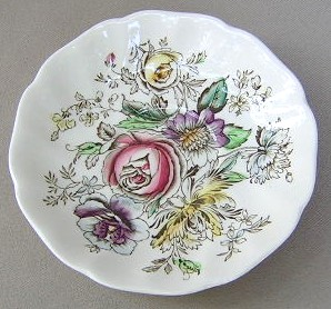 Make sure your browser can show photos and reload this page to see Johnson Brothers Dinnerware  Sheraton Saucer only 5 5/8