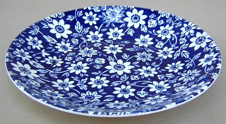 Make sure your browser can show photos and reload this page to see Johnson Brothers Dinnerware  Country Cupboard Gravy (stand only) BLUE