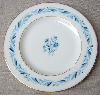 Make sure your browser can show photos and reload this page to see Lenox China Blue Ridge P316 Bread and butter plate 6