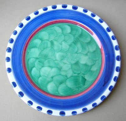 Make sure your browser can show photos and reload this page to see Mikasa China Emerald Harvest BF081 Dinner plate 10 3/8