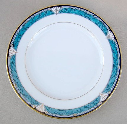Make sure your browser can show photos and reload this page to see Gorham China Edgemont Gold Salad plate  7 3/4