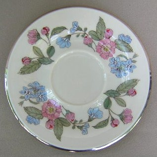 Make sure your browser can show photos and reload this page to see Gorham China Fairmeadows Saucer only 5 7/8
