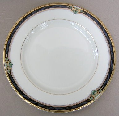 Make sure your browser can show photos and reload this page to see Gorham China Huntington Salad plate 8 3/8