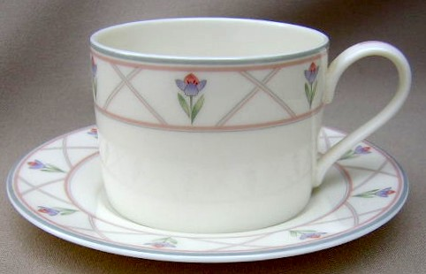 Make sure your browser can show photos and reload this page to see Gorham China Lindsay Cup and saucer set 2 1/2