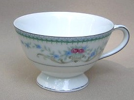 Make sure your browser can show photos and reload this page to see Harmony House China Duchess 3535 Cup only (no saucer) 3 3/4