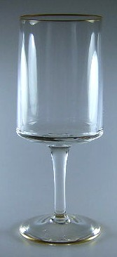 Make sure your browser can show photos and reload this page to see Lenox Crystal Reverie Goblet, water  7