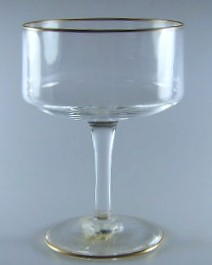 Make sure your browser can show photos and reload this page to see Lenox Crystal Reverie Sherbet tall/champagne 5