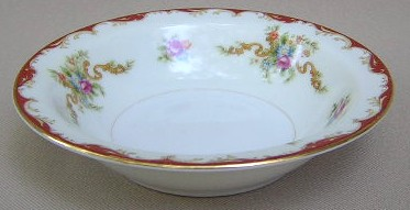 Make sure your browser can show photos and reload this page to see Harmony House China Wembley  Fruit/dessert bowl 5 1/2