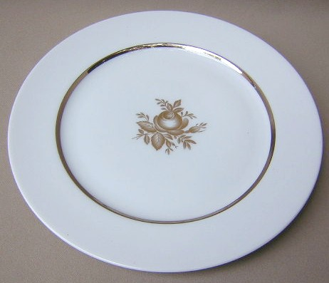 Make sure your browser can show photos and reload this page to see Hutschenreuther China Demoiselle 31544 Dinner plate 10 1/2
