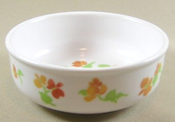 Make sure your browser can show photos and reload this page to see Noritake China Happy Days 9069 Fruit/dessert bowl 4 1/2
