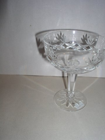 Make sure your browser can show photos and reload this page to see Lenox Crystal Charleston Sherbet tall/champagne --5