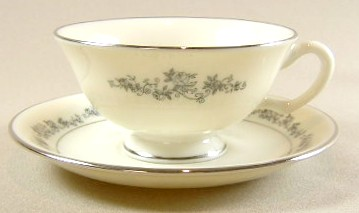 Make sure your browser can show photos and reload this page to see Lenox China Promise Cup and saucer set 2 1/8