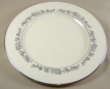 Make sure your browser can show photos and reload this page to see Lenox China Promise Dinner plate 10 1/2