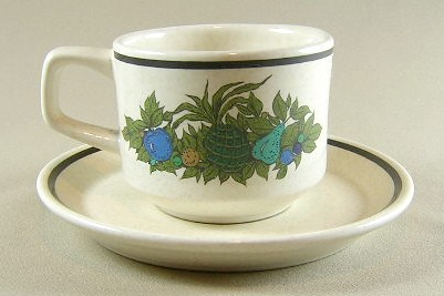 Make sure your browser can show photos and reload this page to see Lenox China Fall Bounty Cup and saucer set 2 5/8