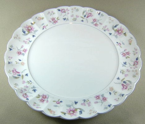 Make sure your browser can show photos and reload this page to see Nikko Dinnerware Garden Party 882 Dinner plate 10 1/2