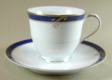 Make sure your browser can show photos and reload this page to see Nikko Dinnerware Sapphire 2723 Cup and saucer set 3
