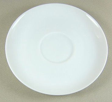 Make sure your browser can show photos and reload this page to see Arzberg China Arzberg White (Shape 1382)  Saucer only 5 3/8