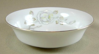 Make sure your browser can show photos and reload this page to see Johann Haviland China Sweetheart Rose  Fruit/dessert bowl 4 3/4