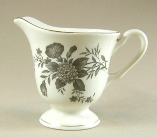Make sure your browser can show photos and reload this page to see Pickard China Diana - Gray 1058 Creamer