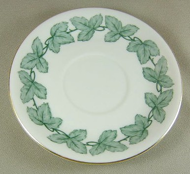 Make sure your browser can show photos and reload this page to see Pickard China Sylvia 1068 Saucer only 6