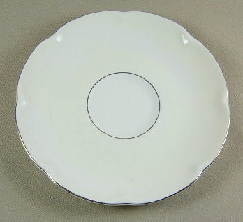 Make sure your browser can show photos and reload this page to see Haviland China Leeds Saucer only 5 7/8