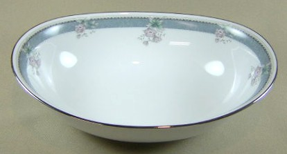 Make sure your browser can show photos and reload this page to see Noritake China Alhambra 3331 Oval vegetable 10